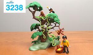 Kit de jungle avec singes et personnages Playmobil 3238