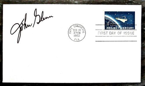 NASA Mercury 7 Astronaut John Glenn Signed Alan Shepard Scott Carpenter Shirra