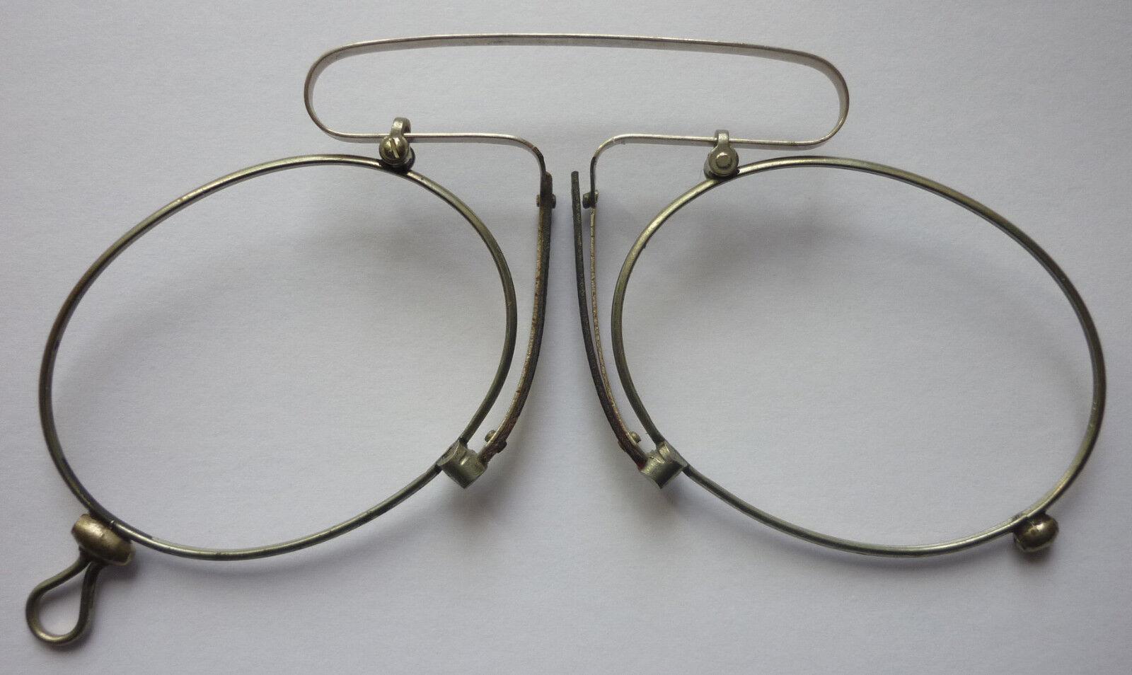 1. ZWICKER KNEIFER ohne Glas vor 1945 aus Optiker Nachlaß