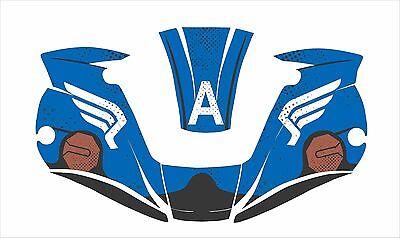 Miller Digital Elite 257213 Welding Helmet Decal Sticker Welder Captain America