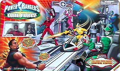 Power Control-center (POWER RANGERS TIME FORCE CONTROL CENTER  Ramsik and Quantum Power Rangers)