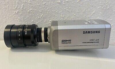 Rainbow G75mm 11.8 Cctv Camera Lens G75 1.8 W Samsung Sdc-415 Security Tv