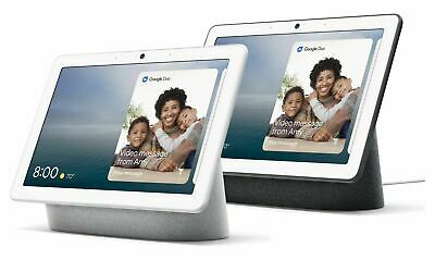 """Google Nest Hub Max 10"""" Voice-Activated Touchscreen Smart Assistant"""