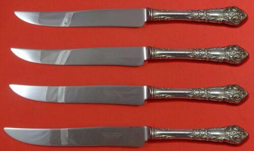 French Renaissance by Reed Barton Sterling Steak Knife Set Texas Sized Custom