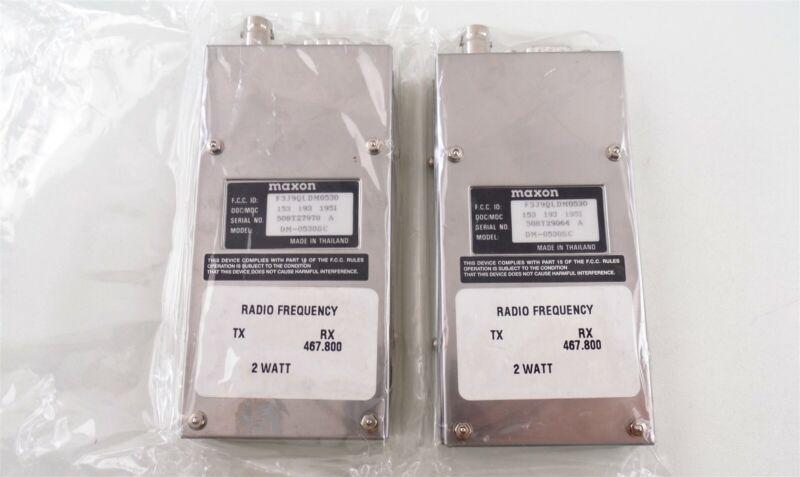 2 Maxon SM-5030SC Data Link Radio Receivers New in Open Box