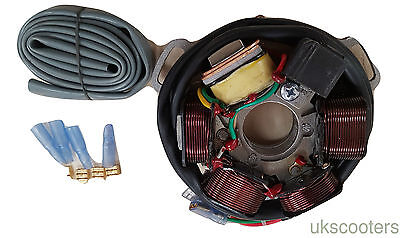 ukscooters LAMBRETTA 120W STATOR PLATE ASSEMBLY 12V ELECTRONIC IGNITION UNI