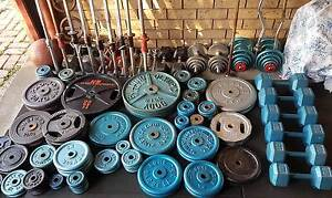 Weights, Barbells, Dumbells, Benches - Various Gym Equipment Wantirna Knox Area Preview
