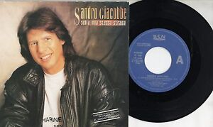 Sandro giacobbe disco 45 made in spain canta in spagnolo for Cancion el jardin prohibido