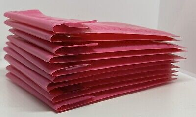 10 Pack Pink Padded Envelopes Bubble Self Seal Shipping Small 4 X 7
