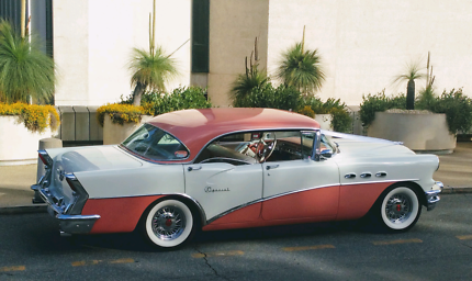 Wedding Car  arrive in style with a Classic Buick