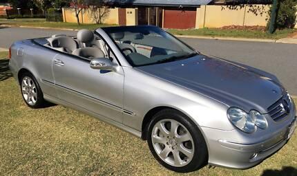 2004 Mercedes-Benz CLK500 CONVERTIBLE Booragoon Melville Area Preview