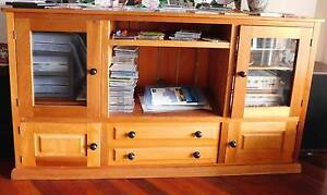 Timber cabinet for TV, audio equipment, etc Kurrajong Hawkesbury Area Preview