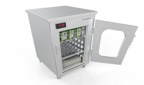 EZ-BATH/Liquid Warming Cabinet, Stainless, Combo-type, 50 EZ-BATH+15 Blankets