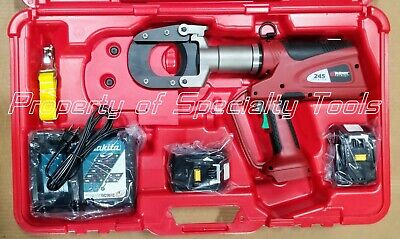 Burndy Patriot Patcut245li Battery Hydraulic Cable Wire Cutter Tool Demo