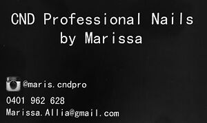 CND Professional Nails by Marissa Morley Bayswater Area Preview