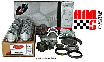 Engine Rebuild Kit w/ Flat Top Pistons for 1967-1985 Chevrolet GMC 350 5.7L (Engine Rebuilding)