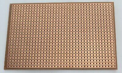 2 Pcs Single Sided Pcb Stripboard Proto Perf Board Bakelite Fr 2 6.49.5 Cm