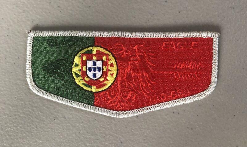 Black Eagle Lodge 482 Portugal Country Flap / Transatlantic Council