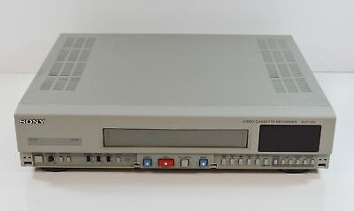 Sony SVT-150 Security Time Lapse VHS VCR Video Cassette Recorder Player TESTED