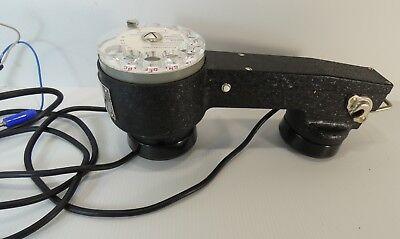Téléphone PTT combiné à cadran 1965 de technicien / TRES BON ETAT