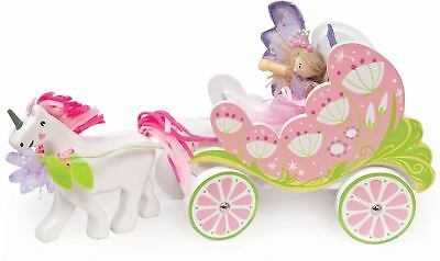 Le Toy Van FAIRIES CARRIAGE & UNICORN WITH FAIRY Creative Pre-School Toy BN