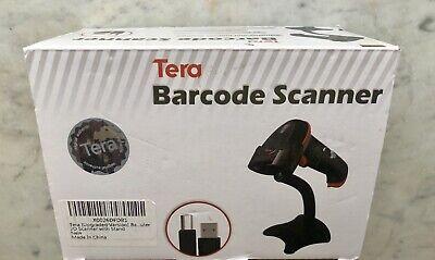 Tera Barcode Scanner Wireless Versatile 2-in-1 2.4ghz Wirelessusb 2.0 Wired