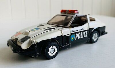 1982 Takara Transformers G1 Prowl Highway Patrol Police