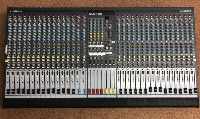 Allen & Heath GL2400 32 Channel Analog Mixing Board Sound Console