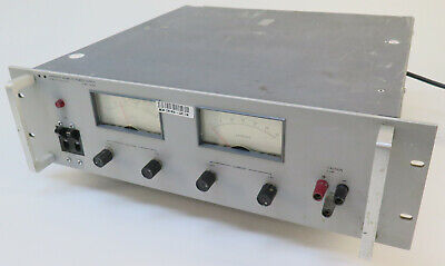 Hp Agilent 6434b Dc Power Supply 0-40v 0-25a