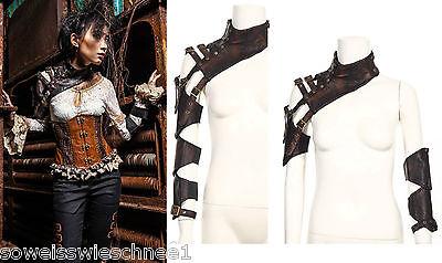 RQ-BL Steampunk Manschette Bolero Stulpen  Gothic Lolita Harness SP093 ()