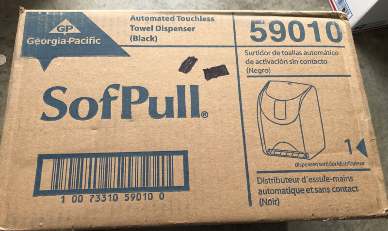 Touchless Automated Paper Towel Dispenser Georgia Pacific Sofpull 59010 New