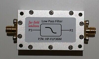 Rf Low Pass Filter Fc 36mhz Vhf 100w Cw Power