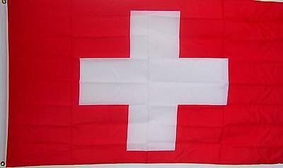 SWITZERLAND SWISS COUNTRY BANNER FLAG NEW 3ftx5ft better quality usa seller