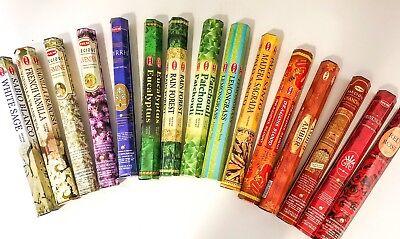 Hem Stick Incense - Hem Incense Sticks Bulk - Pick 20-40-60-80-100-120 Wholesale - Free Ship!