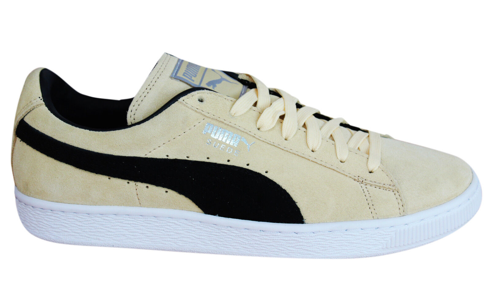 Puma Zapatos Ante Classics+ Hombre Trainers Lace Up Low Zapatos Puma Leather 363242 45 M11 4d8af5