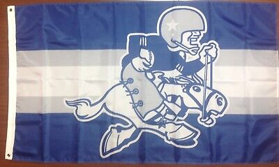 New Dallas Cowboys Banner Flag  Vintage Logo 3'X5'