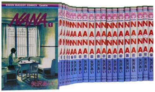 NANA 1-21 Complete Set Japanese Manga Comics Book
