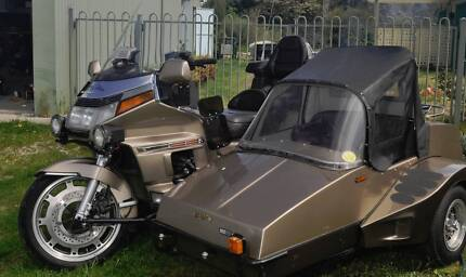 Goldwing 1500 and sidecar