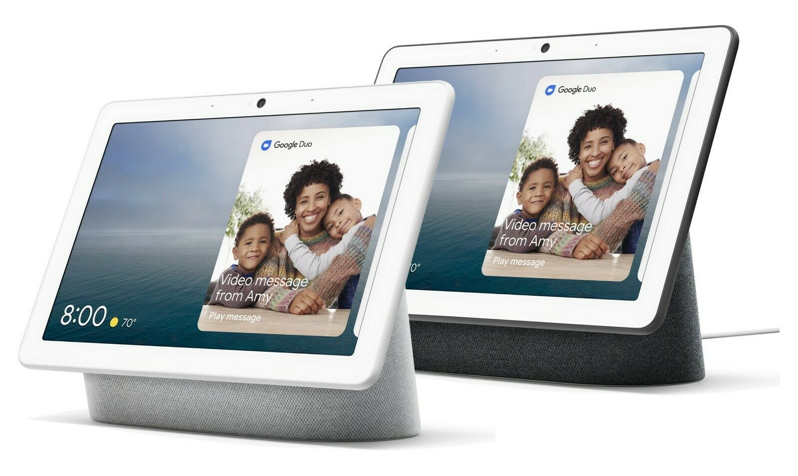 """Google Nest Hub Max 10"""" Voice-Activated Touchscreen Smart As"""