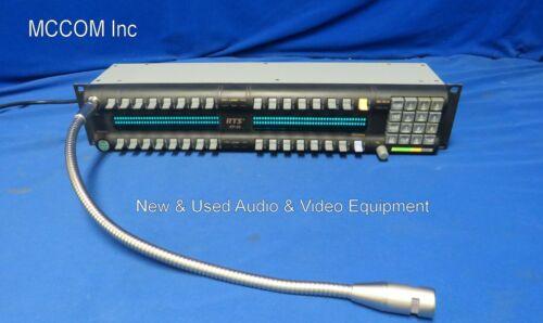 RTS Telex KP-32 32 Position Keypanel w/ power supply