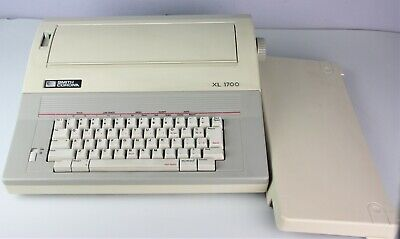 Smith Corona Electronic Typewriter Xl 1700 Model 5a-1 Works