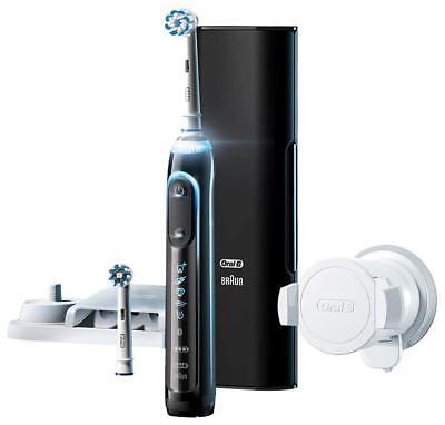 Brown D7015256XCTBK Black Oral B Electric Toothbrush Genius 9000 FREE Ship