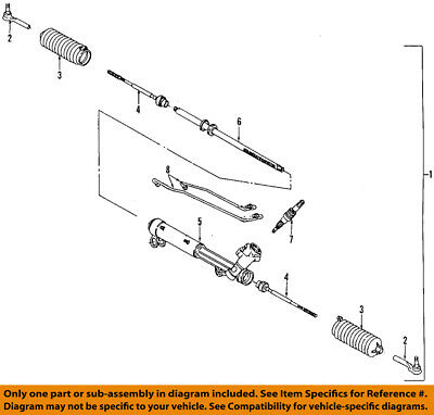 GM OEM-Tie Rod Boot 26035404