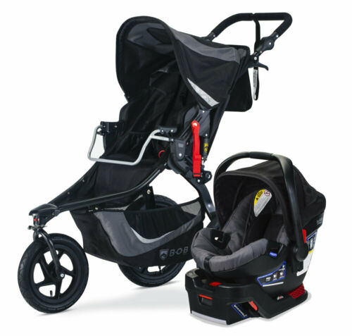 BOB Revolution Flex 3.0 Travel System Stroller w B-Safe 35 Car Seat Graphite BLK