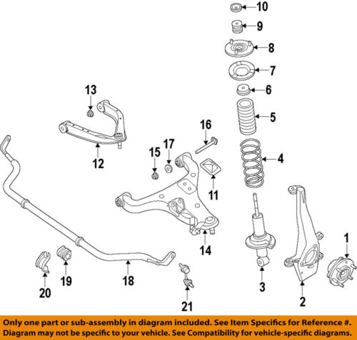 Nissan Oem 16 18 Titan Xd Front Suspension Lower Control Arm