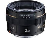 Canon 50mm F1.4 lens.
