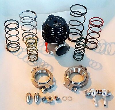 TIAL WASTEGATE MVS MV S 38MM V BAND EXTERNAL 03 TO 17BAR ALL SPRINGS BLACK