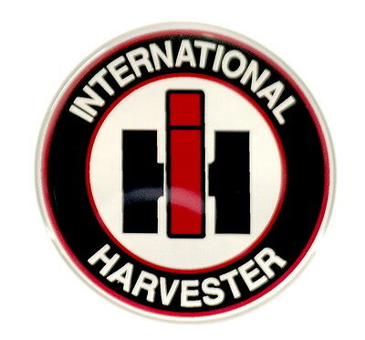 International Harvester Emblem Round Satin