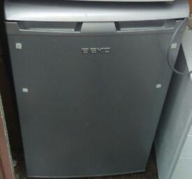 under counter fridge Beko grey with ice box