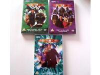 THREE Doctor Who DVDs - Series 1 Vol 3 & 4 plus Series 2 Vol 1